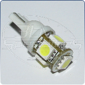 Vision Tech: LED T10 / 194, 5-SMD, Blue