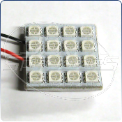 Vision Tech: Universal LED Panel, 16-SMD, Green (ea)