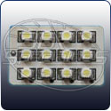 3BSpec: Universal LED Panel, 12-SMD, White (ea)